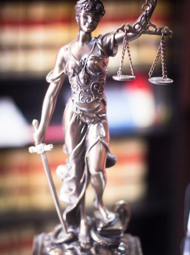 legal symbol statue
